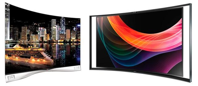LG 55EA9809 / Samsung KE55S9C