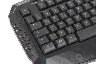linksseitige Zusatztasten mit Office-Funktionen