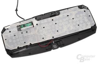 Rubberdome-Schalter und Leiterfolien
