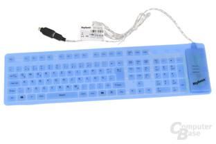 KeySonic ACK-109BL Rubber Keyboard