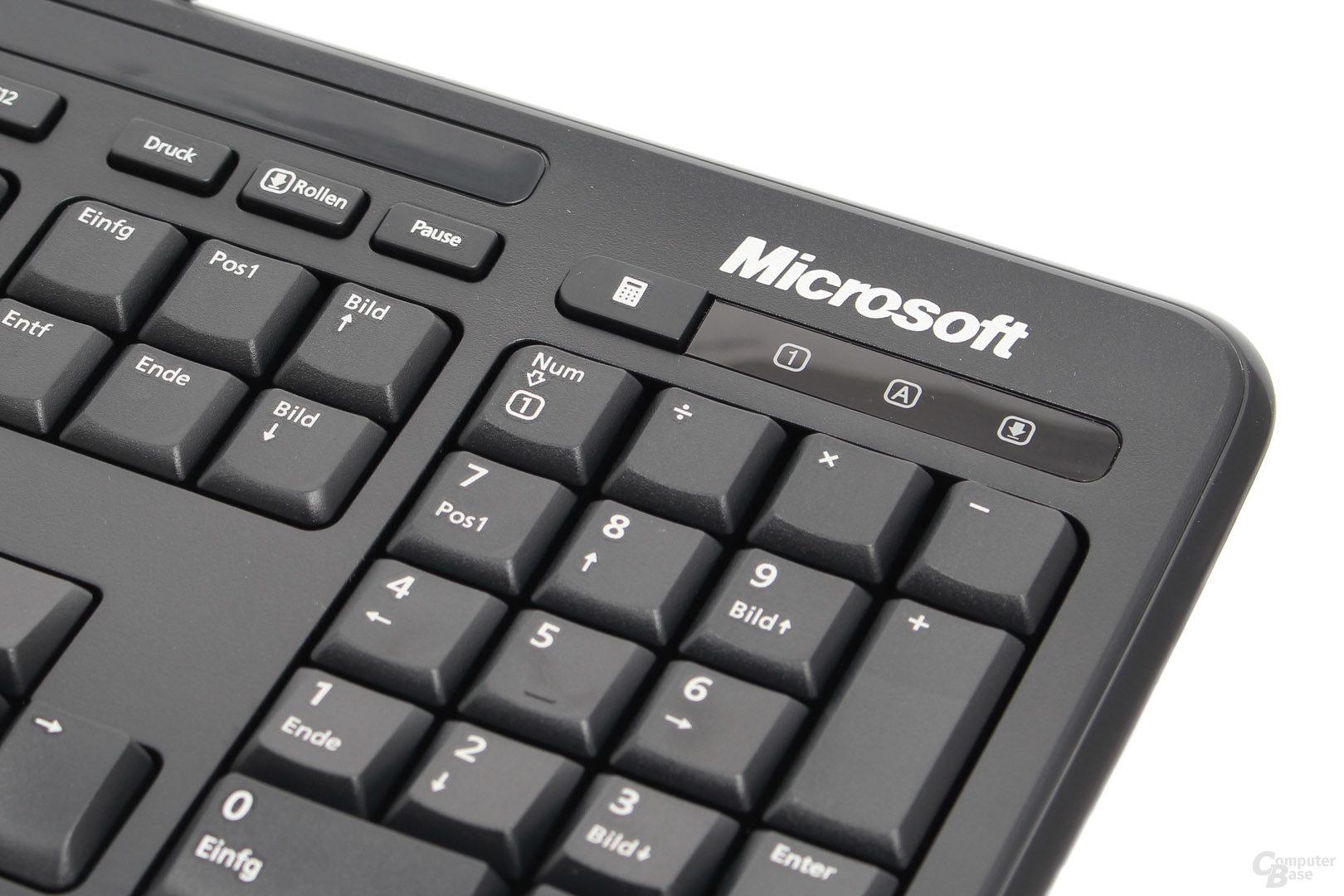 "Status-LEDs und ""Rechner""-Shortcut"