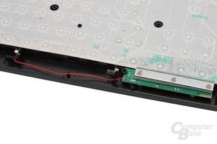 Batteriefach ohne Gehäuse