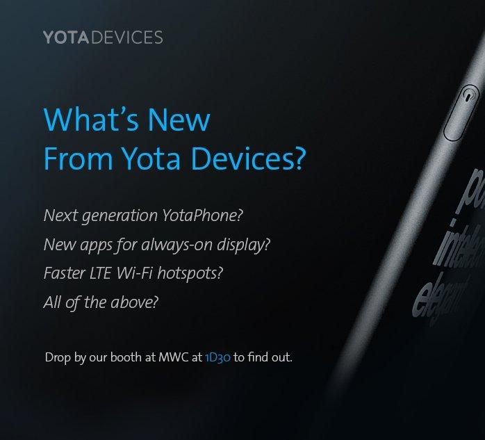 Einladung von Yota Devices