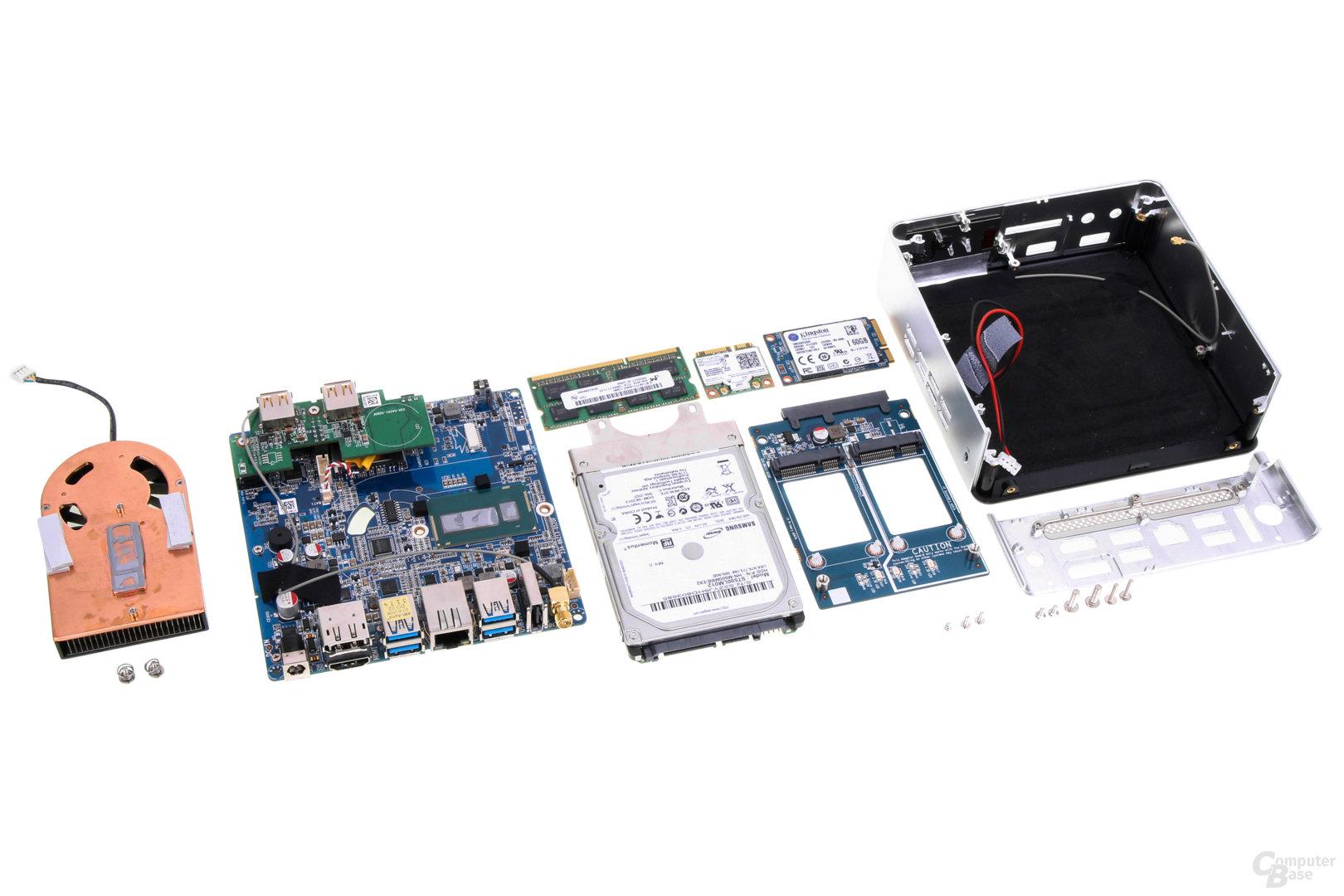 Zotac Zbox nano ID67 zerlegt