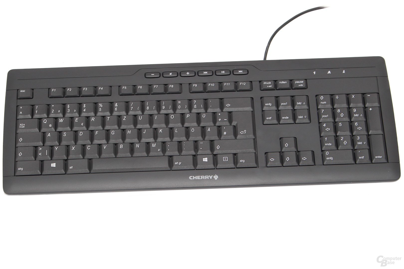 Cherry G85-23100DE-2 eVolution Stream XT Corded MultiMedia Keyboard