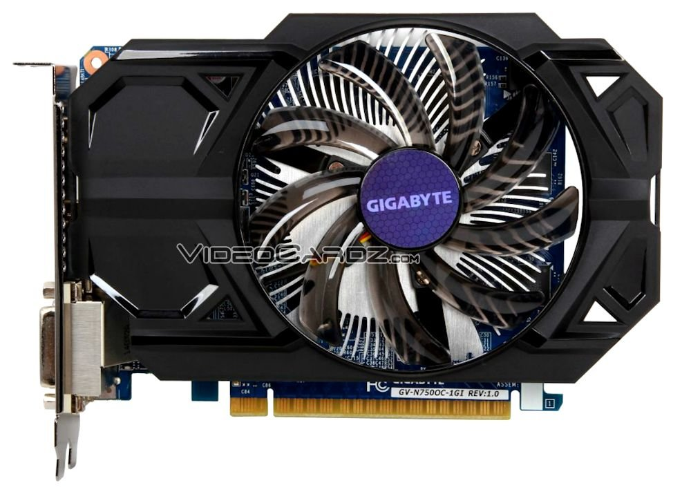 Gigabyte GeForce GTX 750