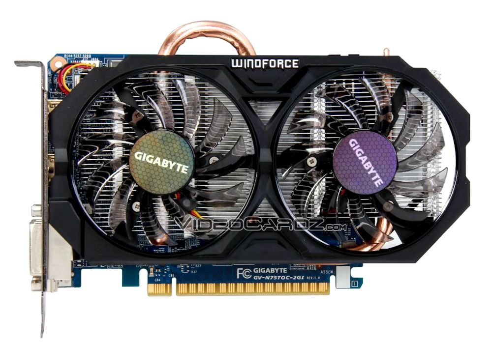 Gigabyte GeForce GTX 750 Ti