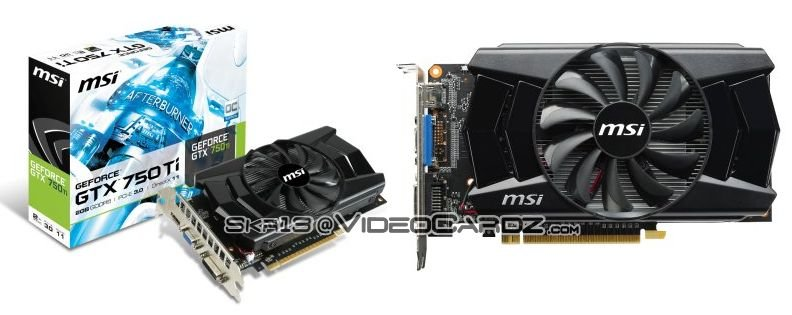 MSI GeForce GTX 750 Ti 2GB