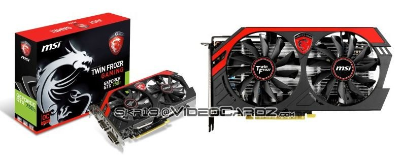 MSI GeForce GTX 750 Ti TF 2GB