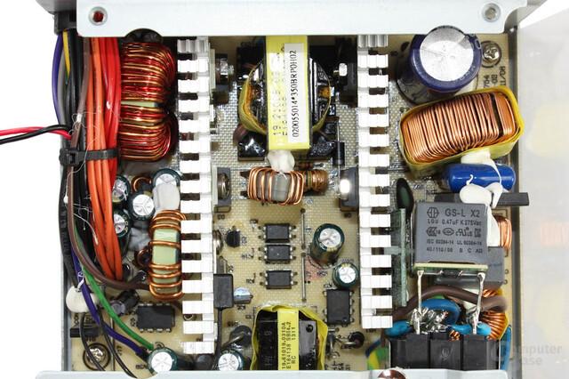 Chieftec SFX-350BS - Überblick Elektronik