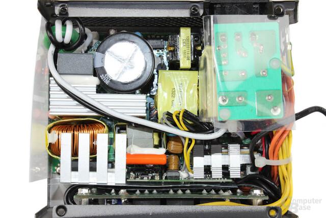 SilverStone Strider Gold Series 450W – Überblick Elektronik