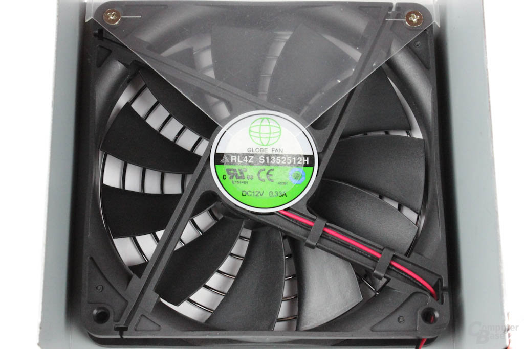 Chieftec New A-135 550 Watt: Lüfter