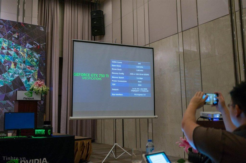 Spezifikationen der Nvidia GeForce GTX 750 Ti