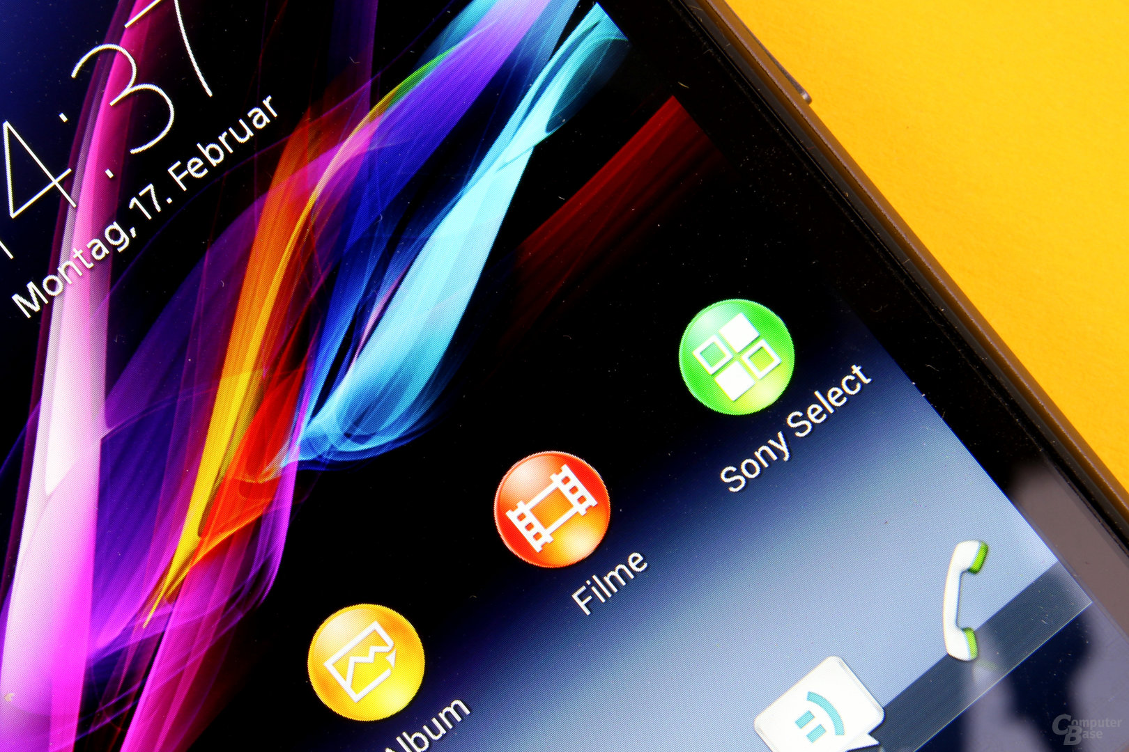 Sony Xperia Z1 Compact – Helles Display mit hoher Pixeldichte