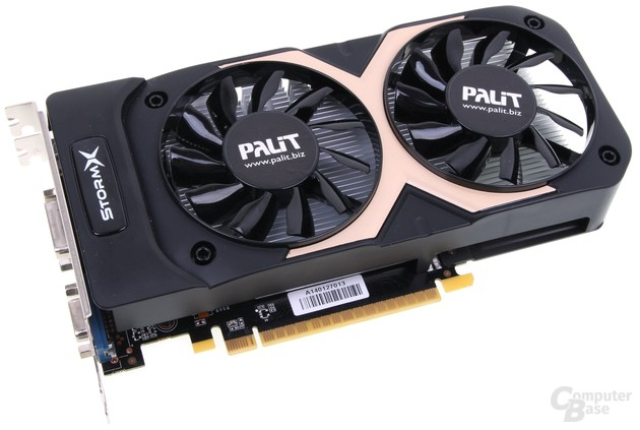Palit GeForce GTX 750 Ti Storm X Dual
