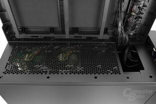 Nanoxia Deep Silence 6 – Zwei vorinstallierte 140-mm-Toplüfter