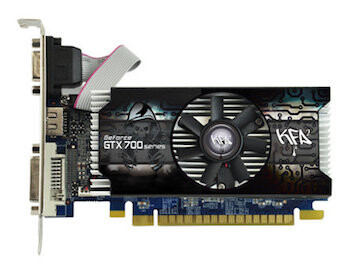 KFA² GeForce GTX 750 (Ti) OC im Low-Profile-Format