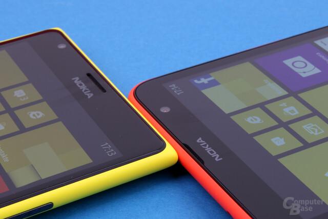 Nokia Lumia 1520 vs. Lumia 1320: Kopf-an-Kopf-Rennen in den Kernbereichen