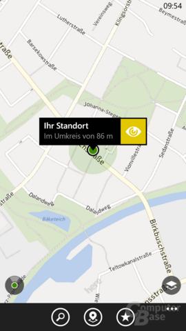 Nokia HERE Maps mit präziser Ortung