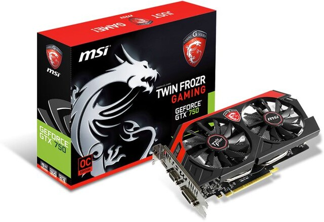MSI GeForce GTX 750 TwinFrozr OC