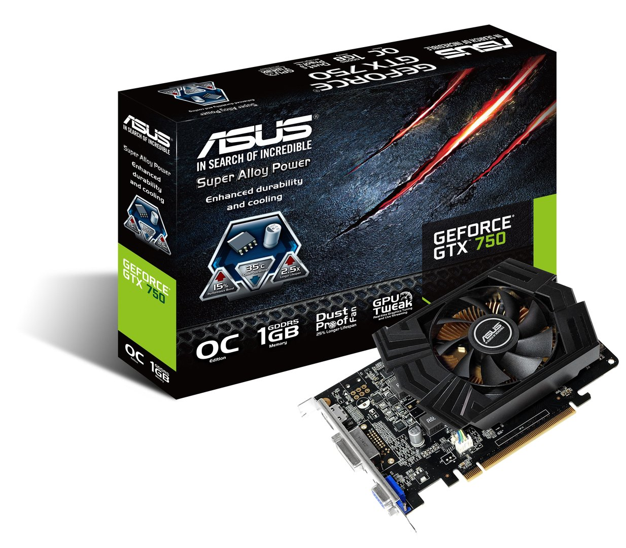 Asus GeForce GTX 750 OC