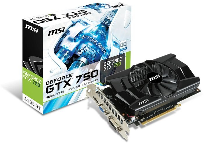 MSI GeForce GTX 750 OC