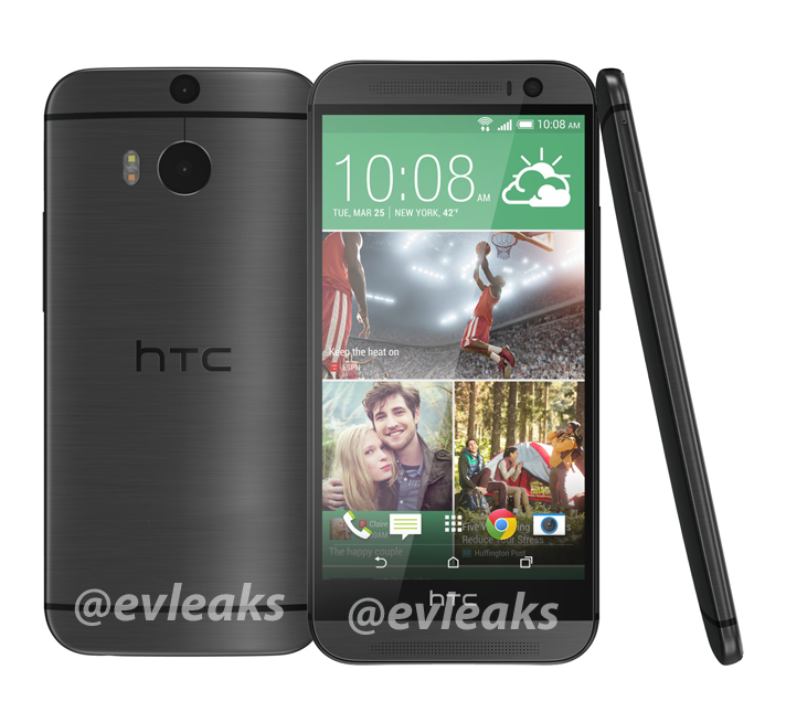"Das ""All New HTC One"" in Grau"