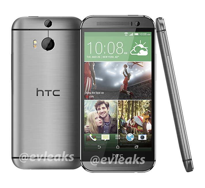 "Das ""All New HTC One"" in Silber"