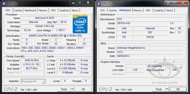 """Core i5-4690S """"Haswell Refresh"""""""
