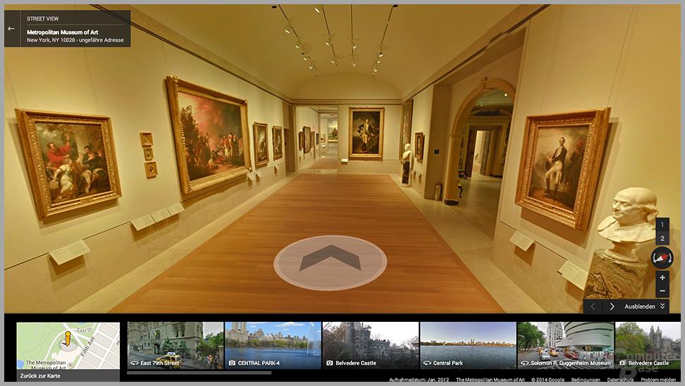 Streetview im Museum
