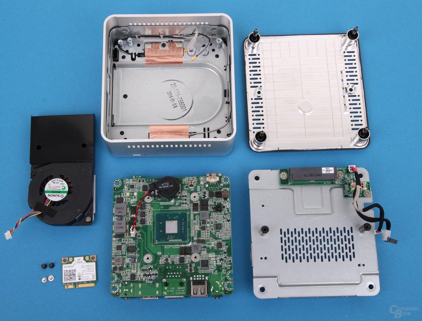 Intel NUC Kit DN2820FYKH zerlegt