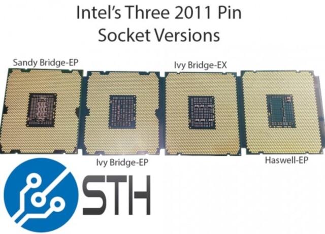 Intels LGA2011 in drei Variationen