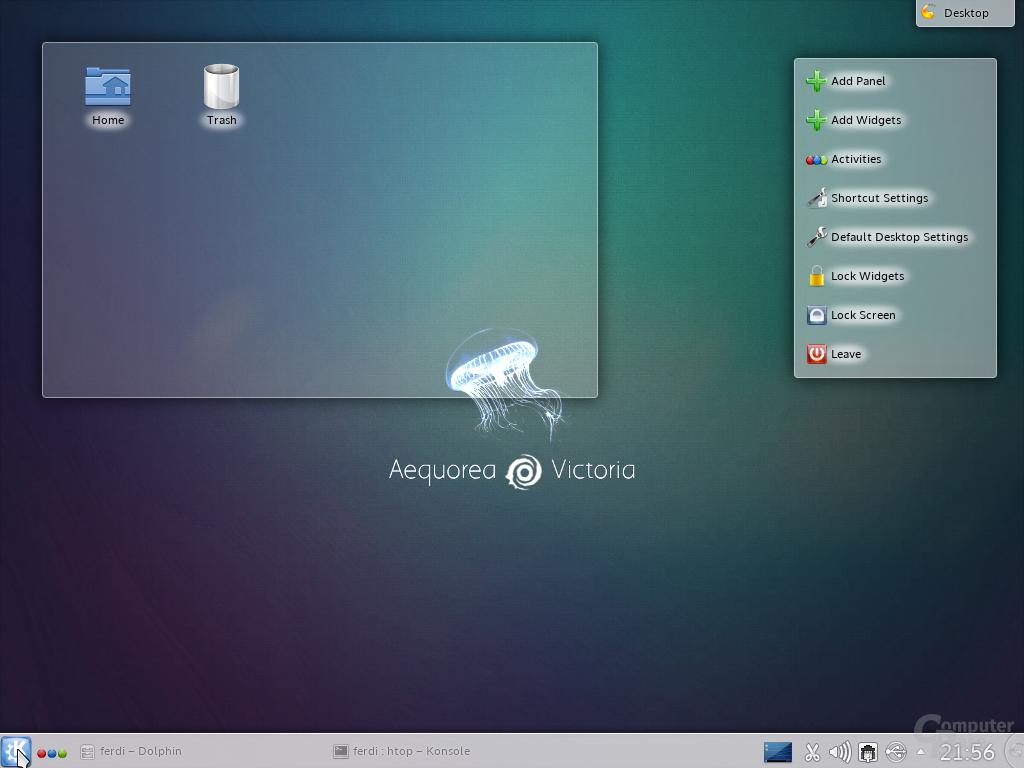 KDE-Desktop