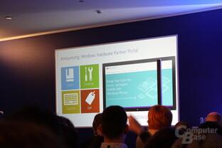 Microsoft-Pressekonferenz auf dem MWC 2014