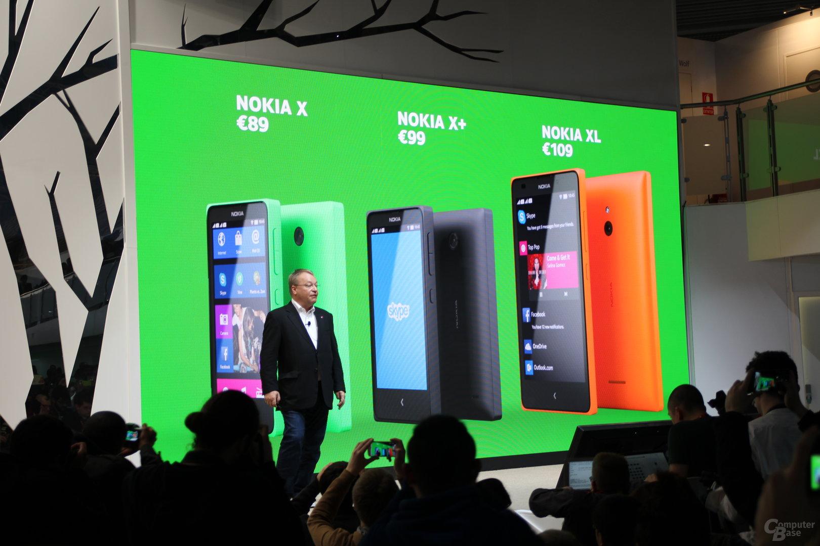 Nokia X Familie