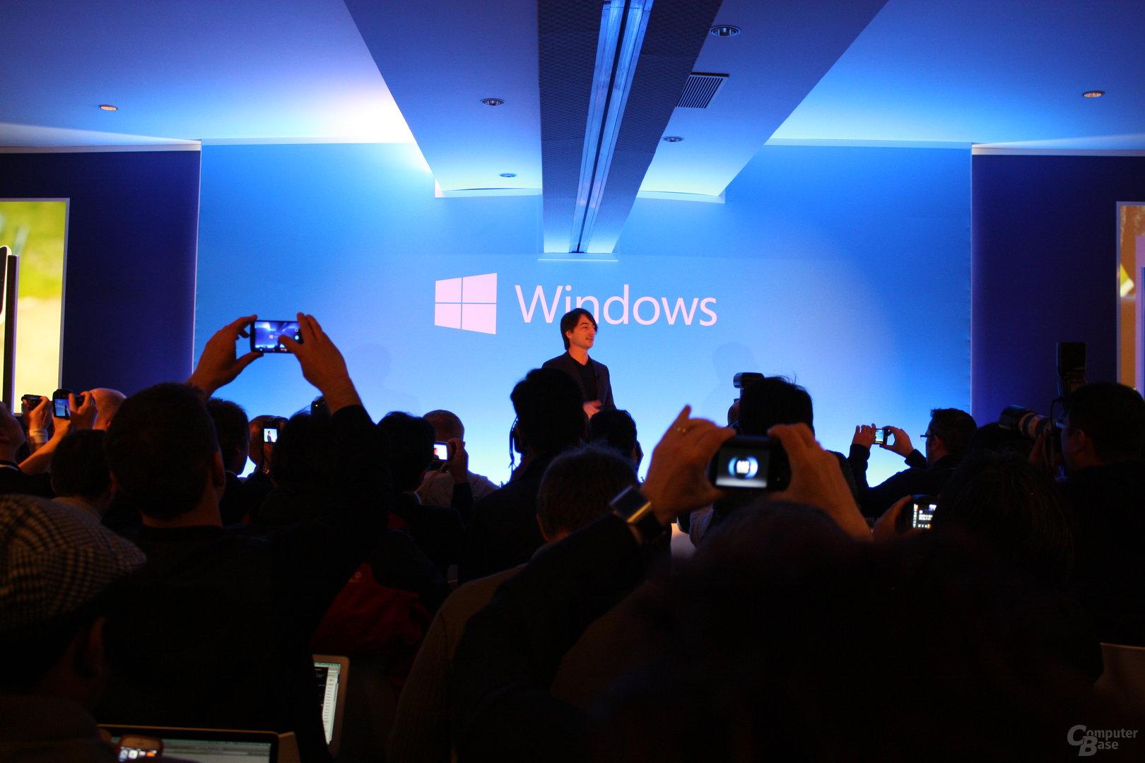 Microsofts Pressekonferenz auf dem MWC 2014