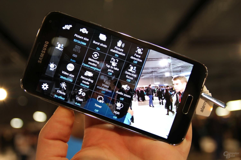 Samsung Galaxy S5 ausprobiert