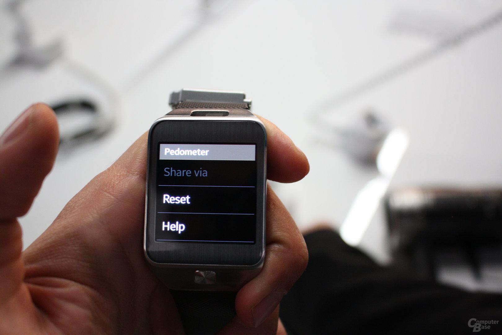 Samsung Gear 2 ausprobiert