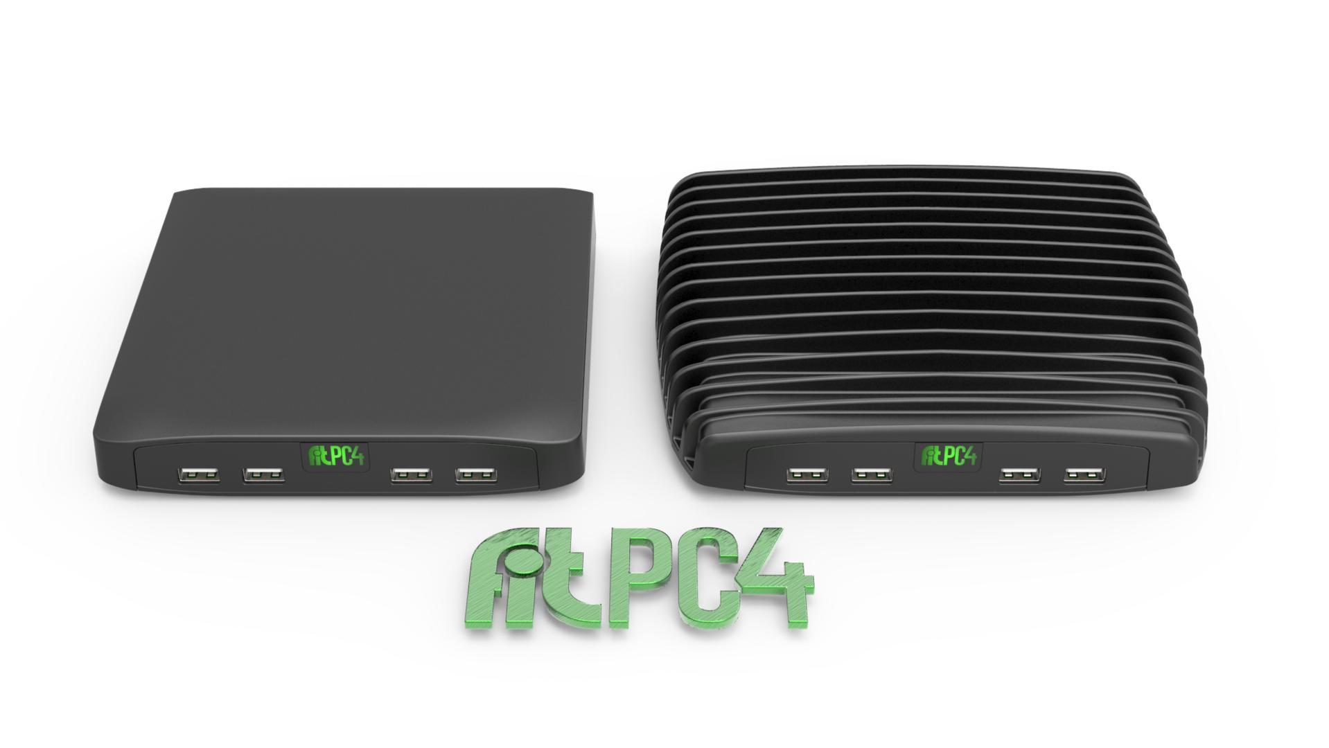 fit-PC4 Value (links) und fit-PC4 Pro (rechts)