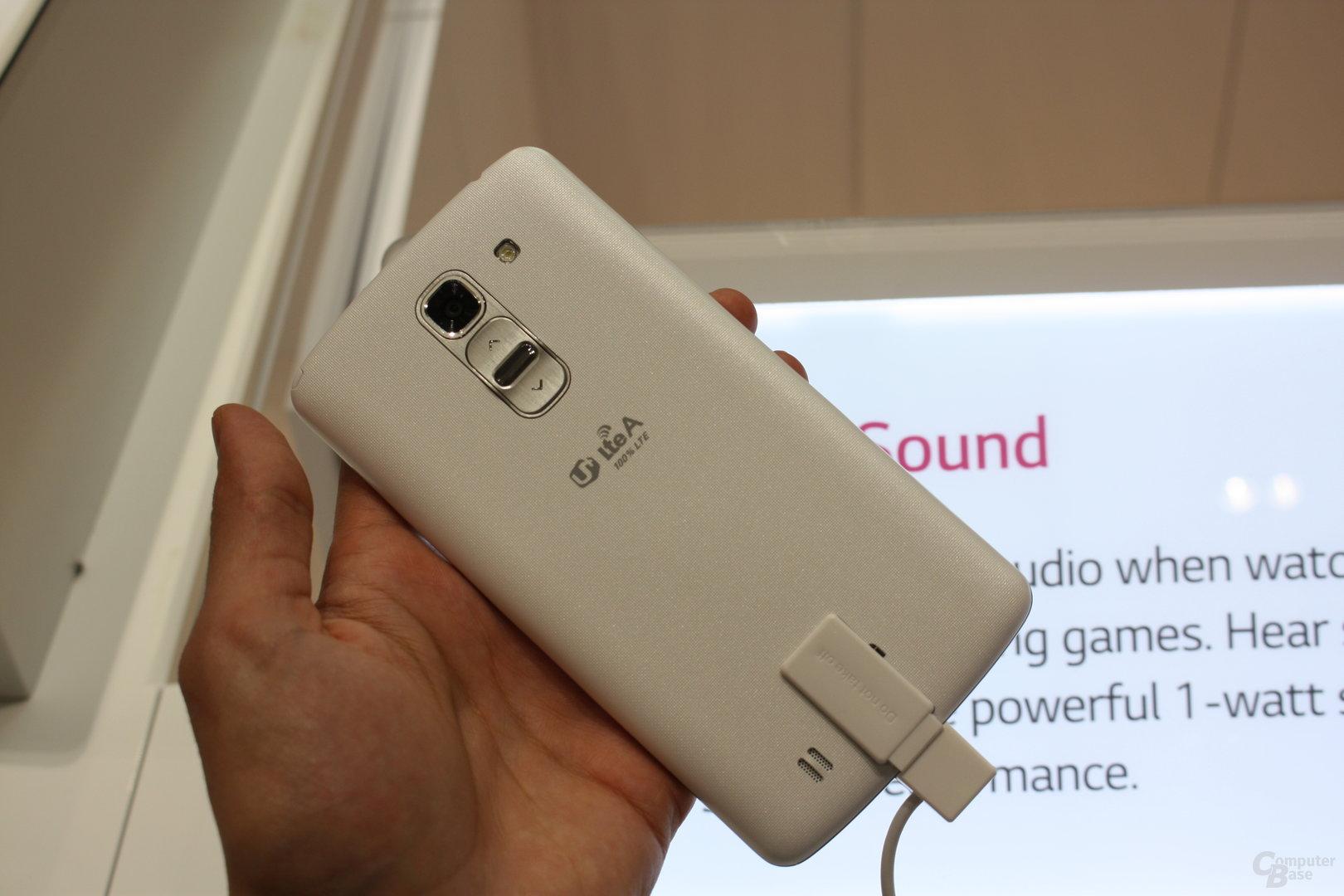 LG G Pro 2 mit Knock Code ausprobiert
