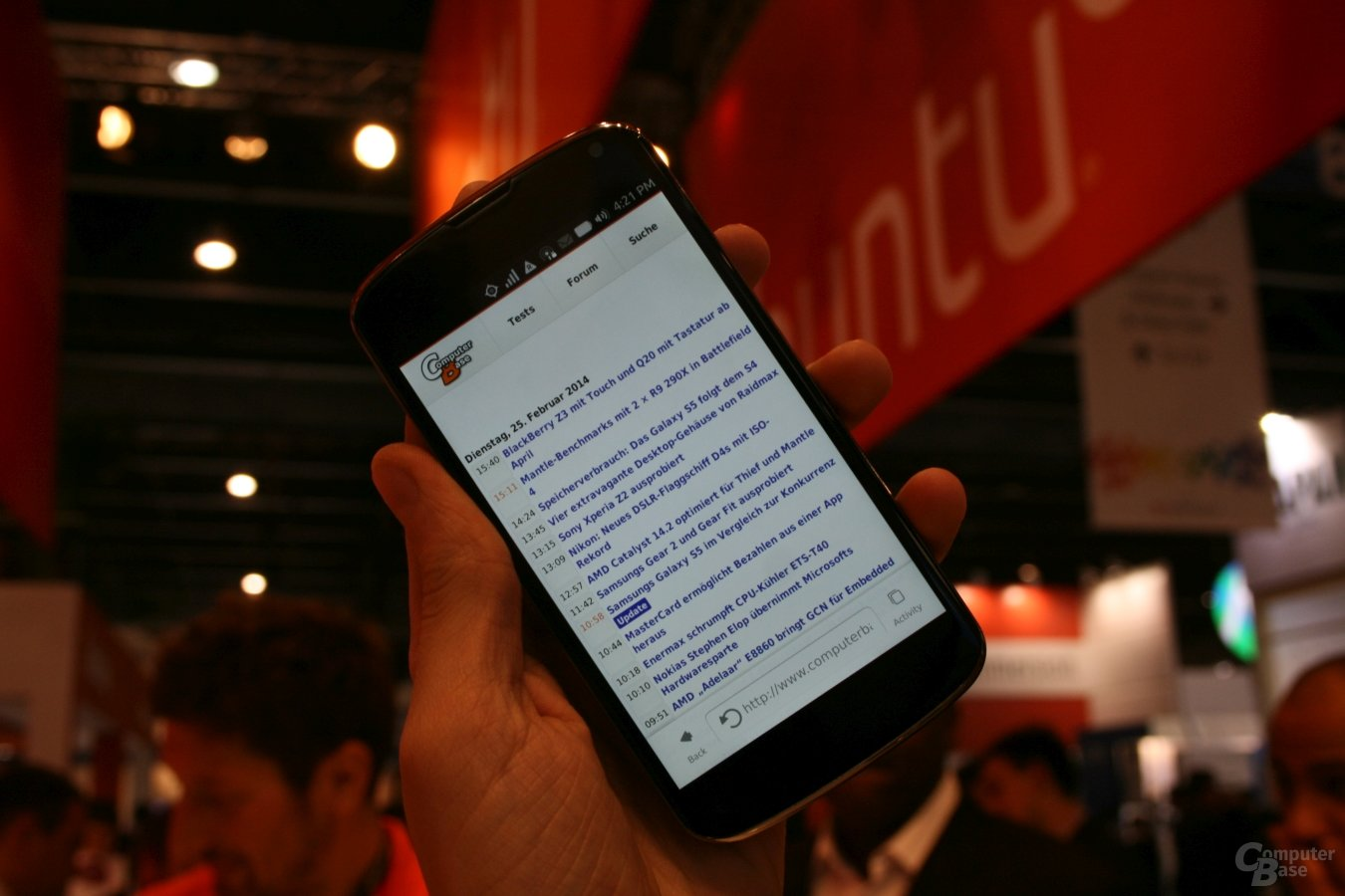 Ubuntu Touch ausprobiert