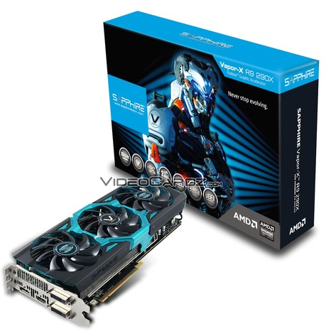 Sapphire Radeon R9 290X Vapor-X mit 8 GB