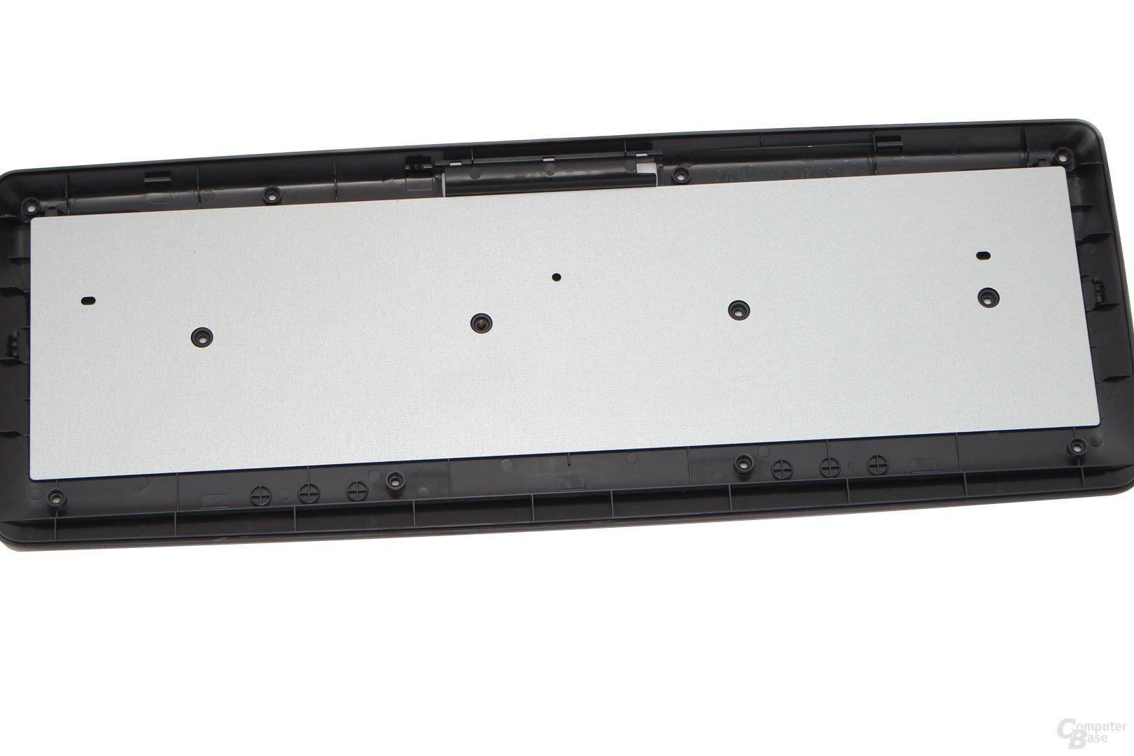 Bei der KW 3000 verbindet Cherry Schalter und Platte nicht
