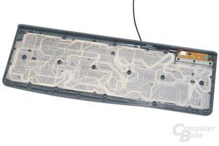 Leiterfolien und PCB (Logitech K120)