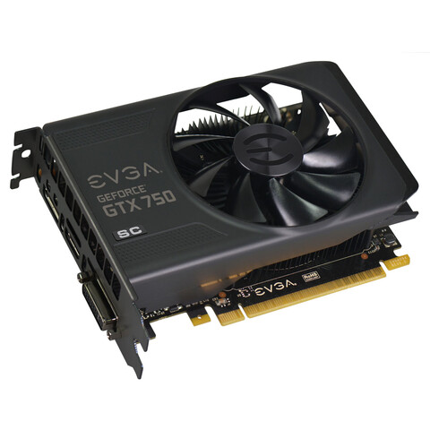 EVGA GeForce GTX 750 2GB Superclocked