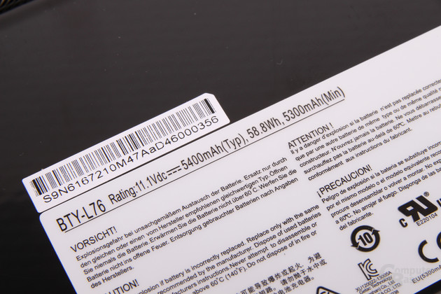 Medion Erazer X7611 Slim Gamer im Test