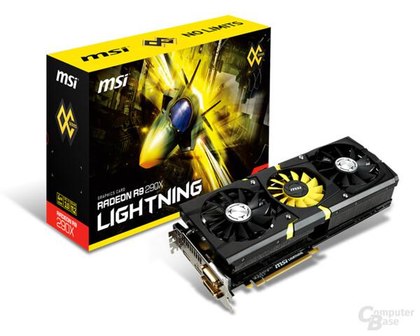 MSI AMD Radeon R9 290X Lightning