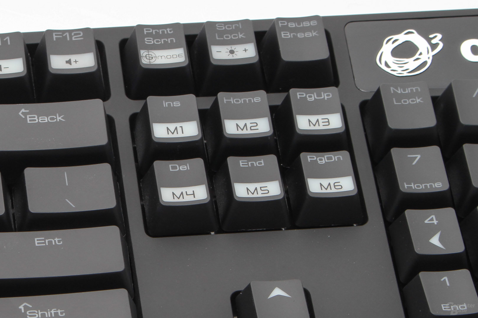 """der Funktionsblock stellt sechs """"Makrotasten"""" bereit"""