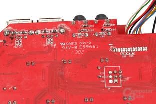 Das PCB nutzt auch die Func KB-460