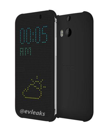 HTC M8: Hülle mit 60 × 27 Bildpunkten